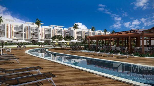 Apartamentos  Drums  en la segunda planta con un total de 100 mts2. 2  | Bienes Raices Republica Dominicana