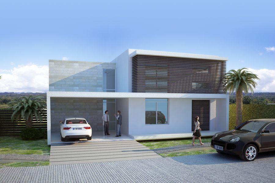 2218 casas modernas preciosas en una urbanizaci n cerrada