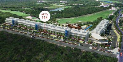 Apartamento Guitar en un tercer nivel en bavaro  | Real Estate in Dominican Republic